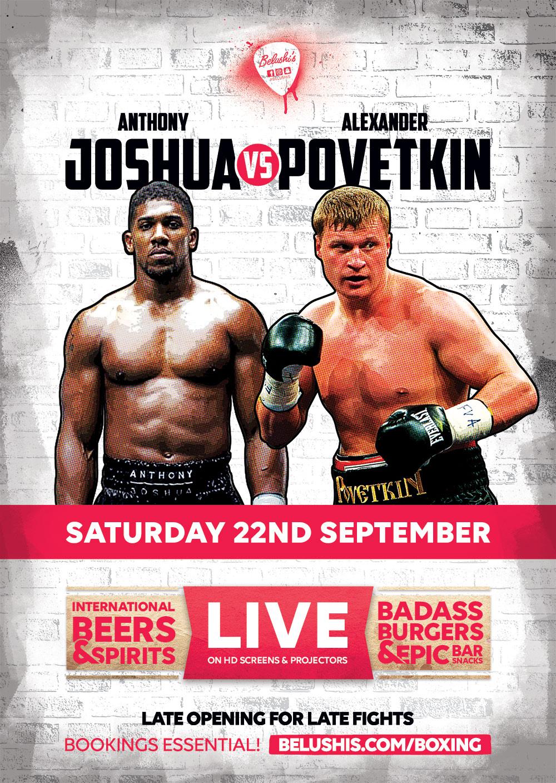 Boxen Joshua Vs Povetkin