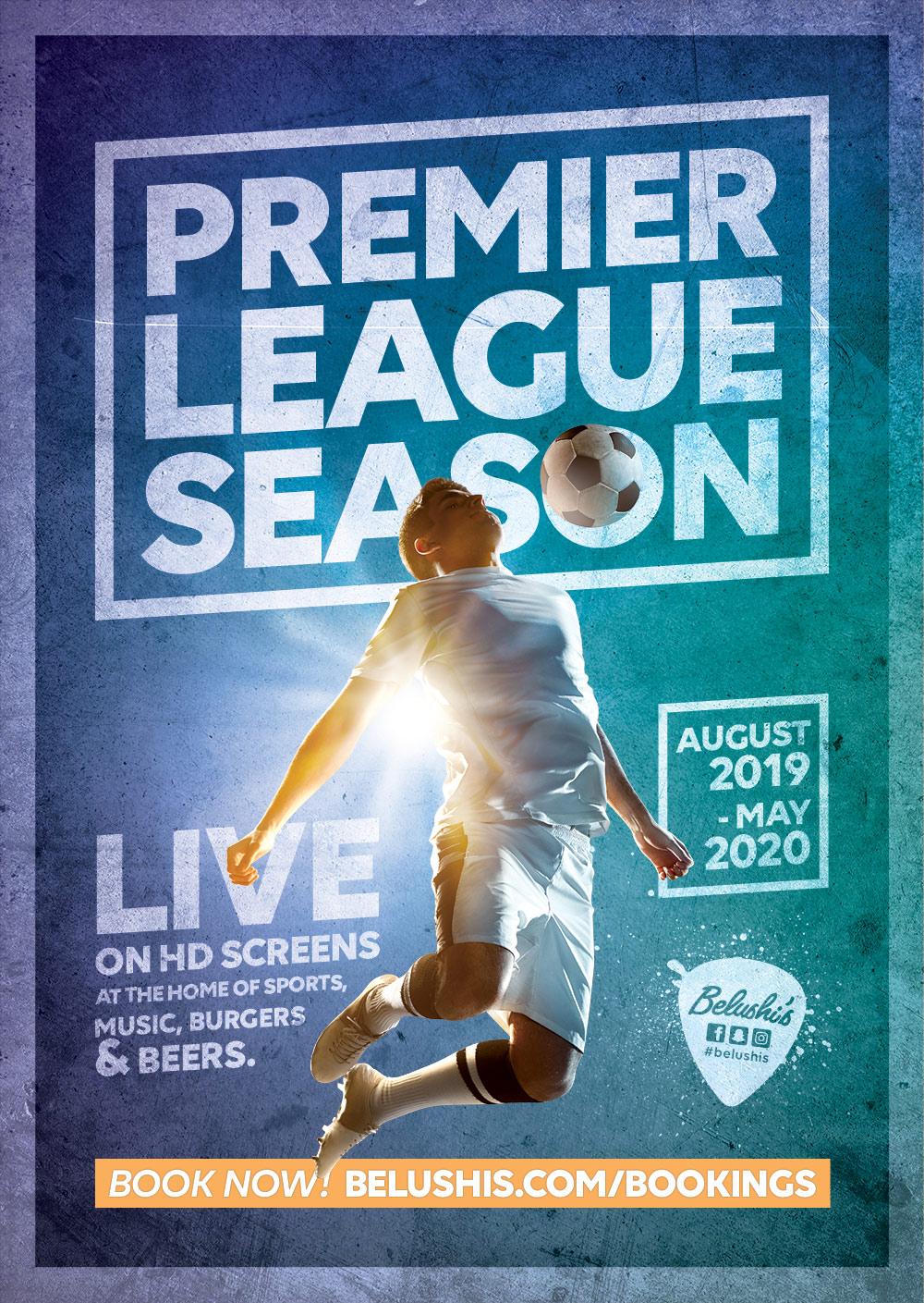 Premier League season in Amsterdam at Belushi's Bar