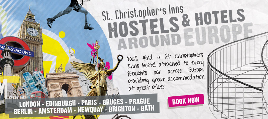 St Christopher�s Inns Accomodation