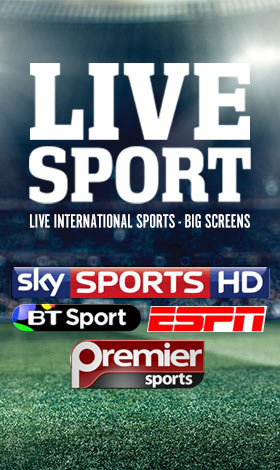 Sky Sports, BT Sports and ESPN