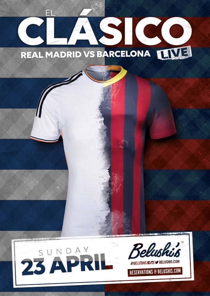 Where to watch El Clásico